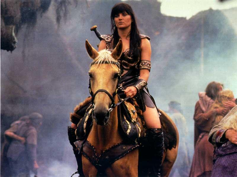 Argo and Xena in Death Mask